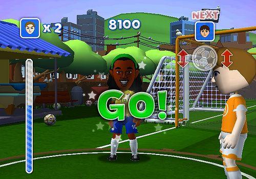 Wii Fifa 08 review screenshots
