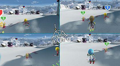 Wii, Skiing, wii family ski, Family Ski, Wii balance board, Wii Remote, Wiimote, Nunchuck