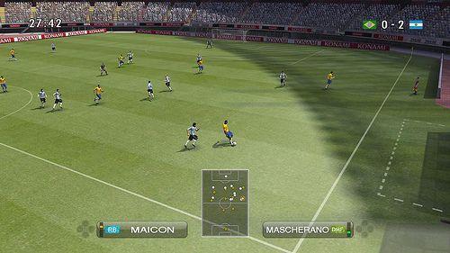 Pro Evolution Soccer 2009 Wii
