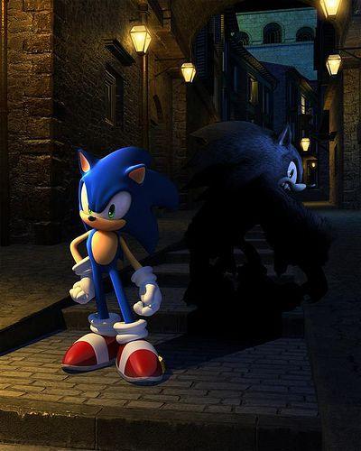 Sonic Night of the Werehog pics