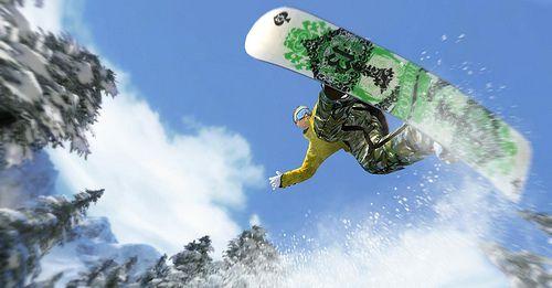 Shaun White Snowboarding review pics