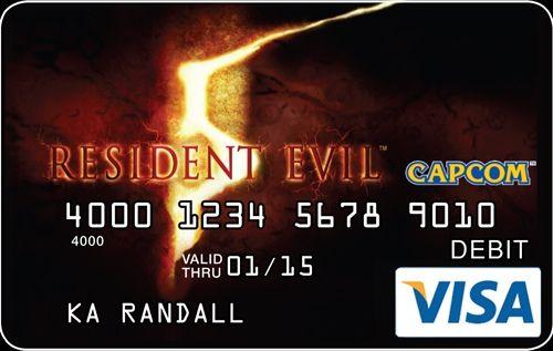 Capcom Debit Cards