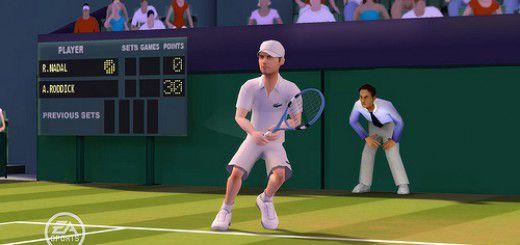 EA Grand Slam Tennis screenshot