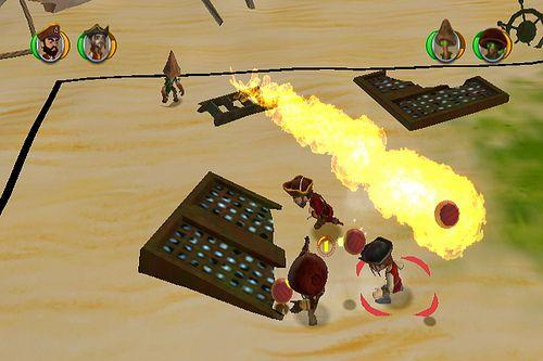 Pirates vs Ninjas Dodge Ball review screenshots