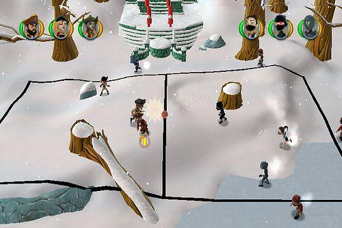 Pirates vs Ninjas Dodge Ball review pics