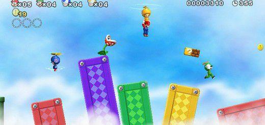 Screenshot of New Super Mario Bros