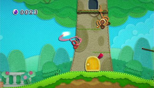 Kirbys Epic Yarn review pics