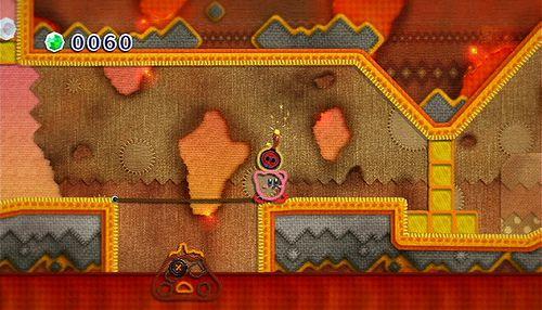 Kirbys Epic Yarn review screenshots