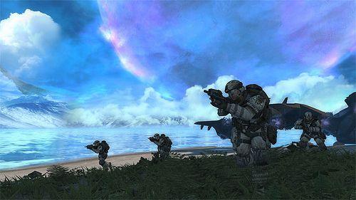 Halo Combat Evolved Anniversary pics