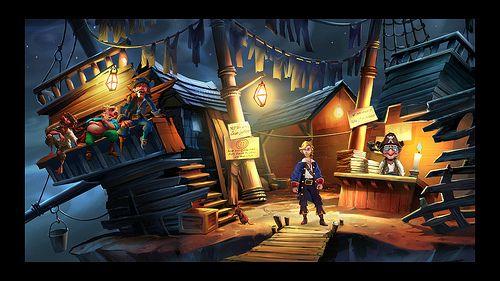 Monkey Island Special Edition pics