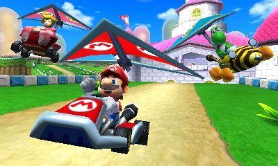Mario Kart 7 review pics