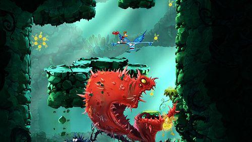 Rayman Origins review pics