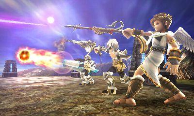 Kid Icarus Uprising review screenshots