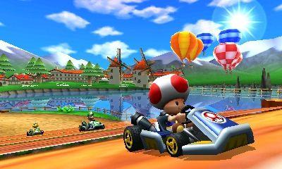 Mario Kart 7 pics
