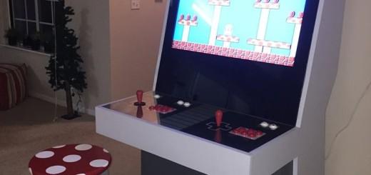 Custom Mario cabinet